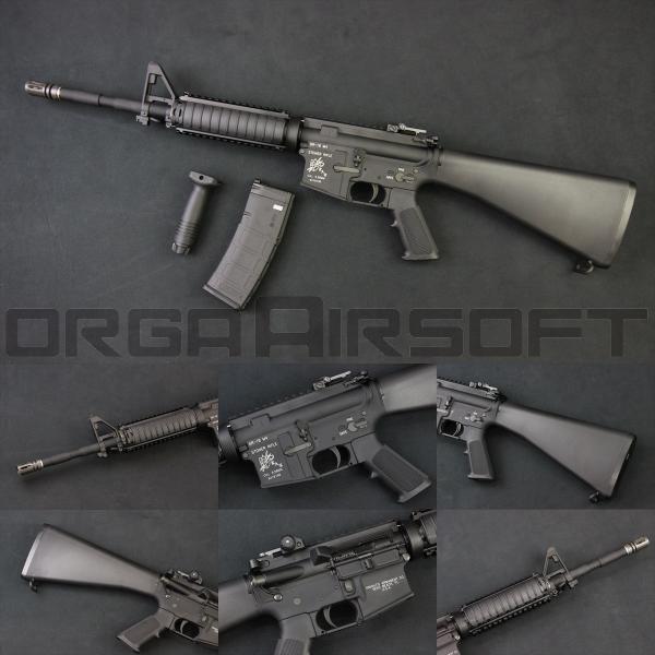 VFC KAC SR16 FixedStock GBBR(JPver/Knight's Licensed)|orga-airsoft