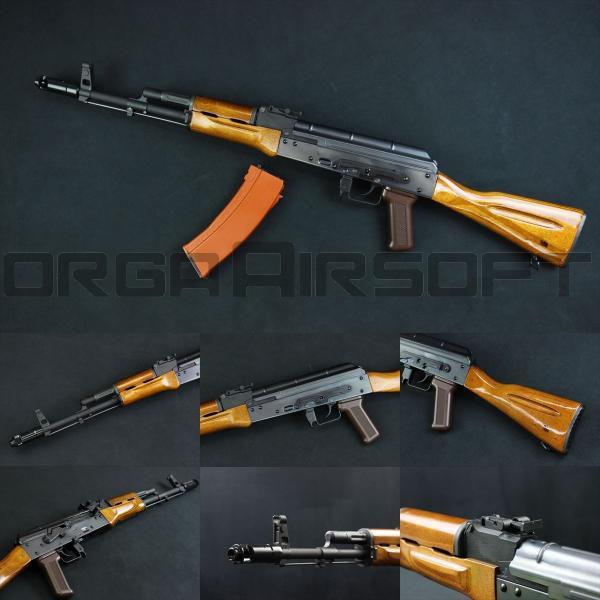 WE AK74 NPAS導入済み ガスブローバック リアルウッド仕様|orga-airsoft
