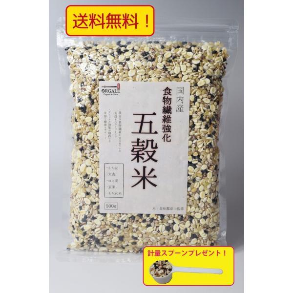 五穀米 500g 九州産大麦、愛知県産もち麦、岩手県産黒米使用 真空パック 便利なチャック付き!送料無料
