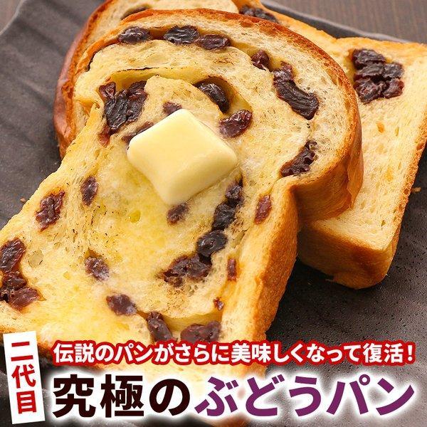 パン 食パン 送料無料 究極のぶどうパン(pn)|organic
