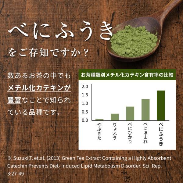 べにふうき茶 緑茶 粉末 粉茶 静岡産 べにふうき 80g 送料無料 organickitchen 07
