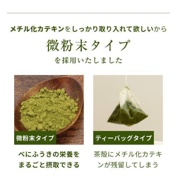 べにふうき茶 緑茶 粉末 粉茶 静岡産 べにふうき 80g 送料無料 organickitchen 10