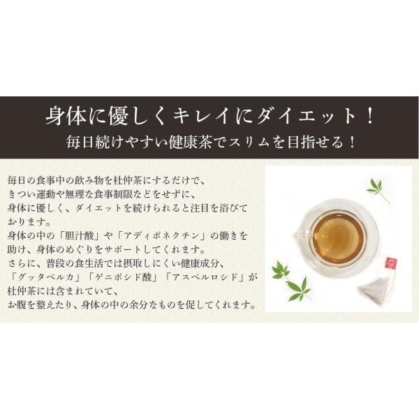 杜仲茶 ティーバッグ 3g x 80包 杜ちゅう茶 とちゅう茶 カフェインレス 国産  茶 健康茶 送料無料|organickitchen|04