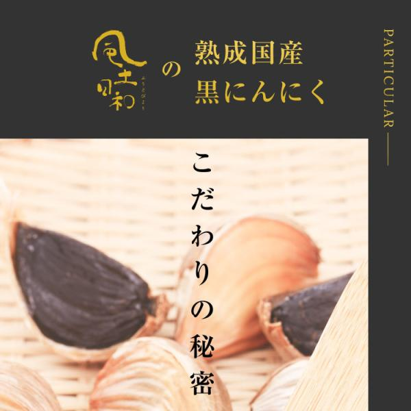黒にんにく 国産 A品 バラ 31片 約1ヵ月分 150g 九州・四国産 父の日 送料無料|organickitchen|15