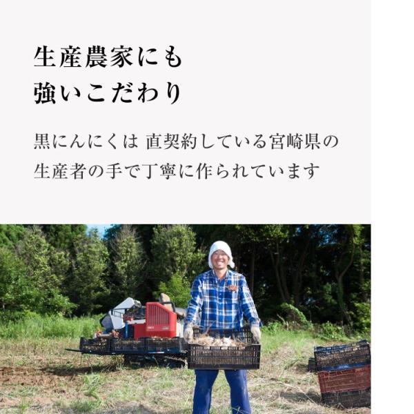 黒にんにく 国産 A品 バラ 31片 約1ヵ月分 150g 九州・四国産 父の日 送料無料|organickitchen|17