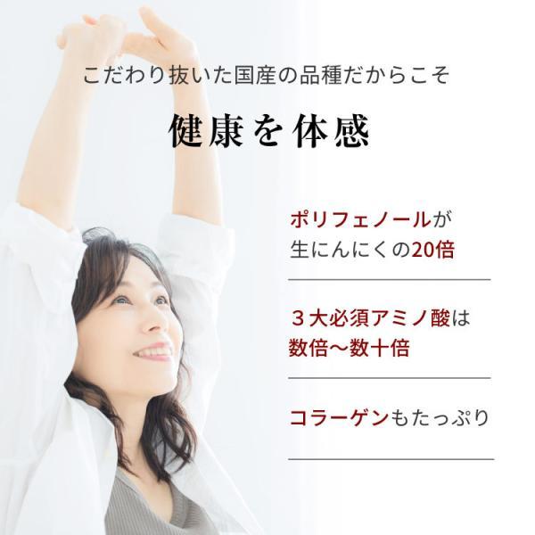 黒にんにく 国産 A品 バラ 31片 約1ヵ月分 150g 九州・四国産 父の日 送料無料|organickitchen|07