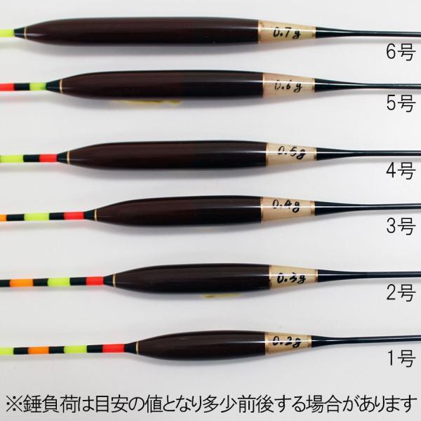 へら浮き 希粋 (きすい)カヤ 浅ダナセットパイプ 1〜6号 単品 (10200)