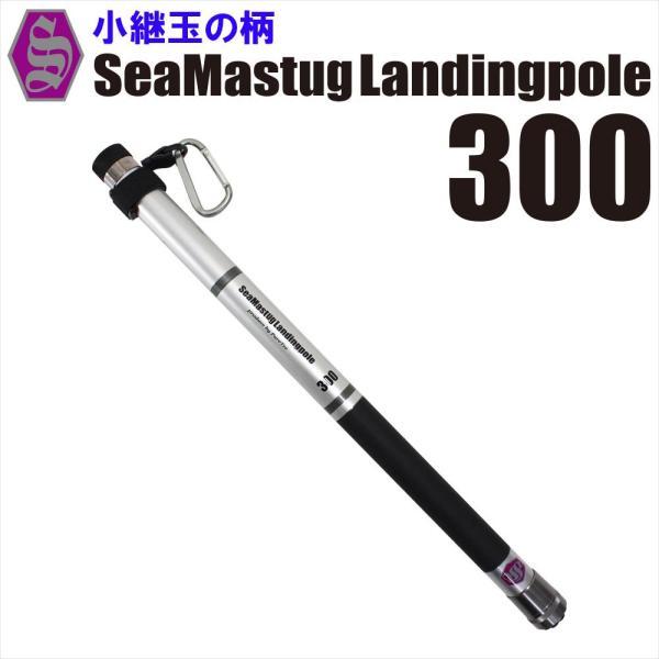 ランディングセット SeaMaster Landing Pole 300 + ランディングネットS 黒 /青/赤(ori-087412-s)