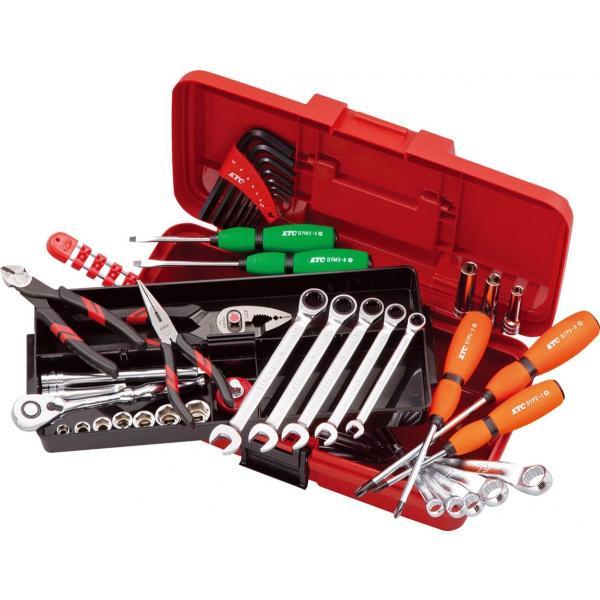 KTC 工具セット/43点組 9.5sq ツールセット