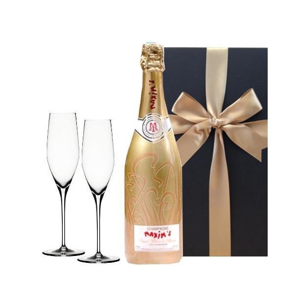 シャンパン ギフト グラスセット フランス シャルドネ 辛口 750ml ペアグラス フルート 贈り物 お礼 お祝い 結婚祝い 誕生日 プレセント|origin-gourmet
