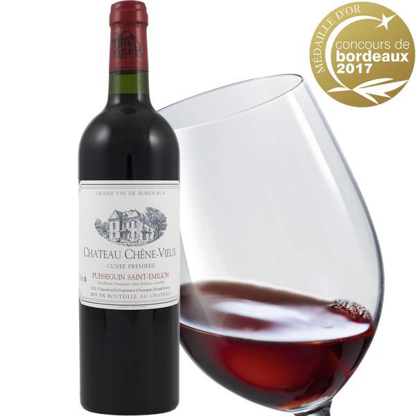 誕生日 ギフト 赤ワイン グラス セット フランス ボルドー シャトー・シェーン・ヴュ 2015年 ドイツ製 ペアグラス 2個|origin-gourmet|02
