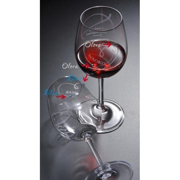 名入れ ワイン 誕生日プレゼント 男性 女性 結婚祝い 名前入り ギフト プレゼント 誕生日 お祝い 結婚祝い ラムール ペアハート ワイングラス original 16