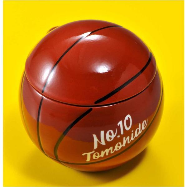 バスケットボール マグカップ 名入れ プレゼント おもしろ 食器 記念品 卒業記念 バスケット ふたつき original 04
