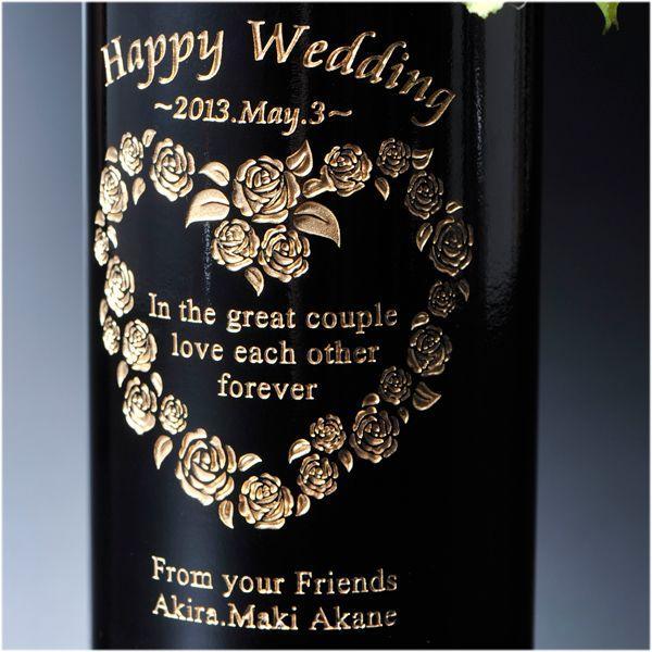 名入れ プレゼント 赤ワインフルボトル&限定ペアワイングラス2点セット テディベアボトルキャップ無料セット|original|02