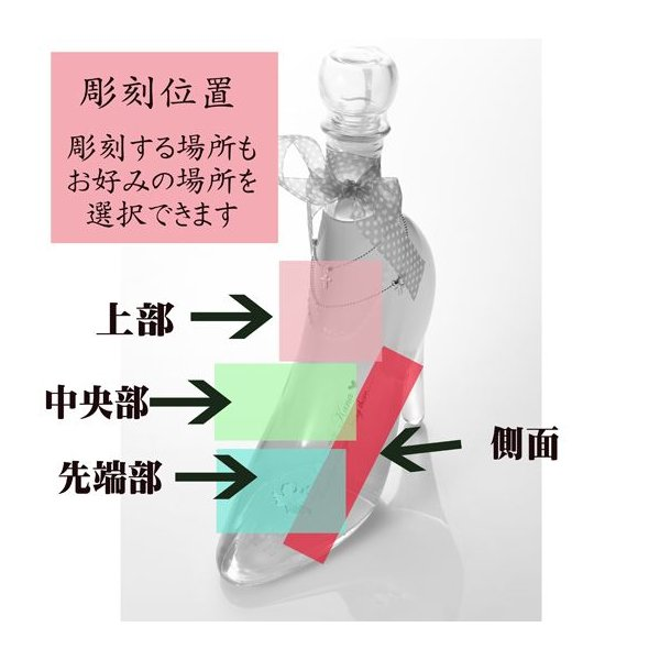 名入れ ギフト プレゼント リキュール おしゃれ ガラスの靴 ゴージャス仕様|original|05