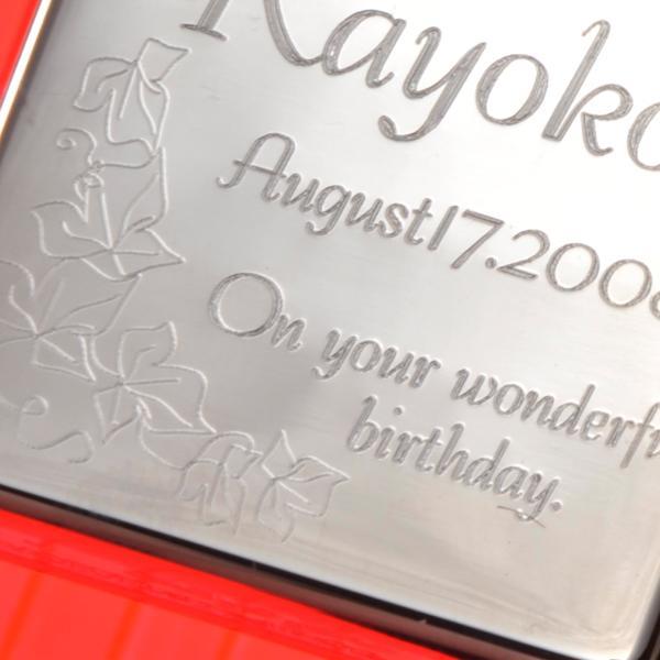ZIPPO オイルライター 名前入り 誕生日 記念日 おまもり  ギフト 名入れ プレゼント ギフト オリジナルZIPPO レギュラー光沢#250 単品 original 04