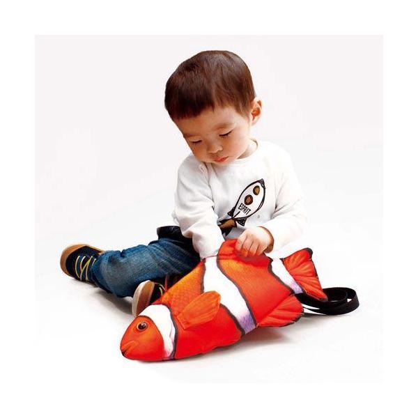 キッズバッグ フィッシュバッグ クマノミ 子供用 キッズ カバン 鞄 バッグ 魚 かわいい ショルダーバッグ プレゼント ギフト