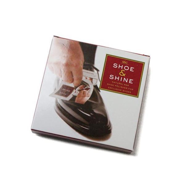 最高品質 携帯用 靴磨きシート シューズ クリーナー クリーム ワックス シュー&シャイン 5パック入り