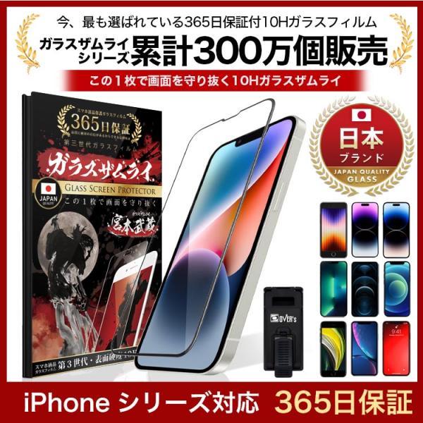 iPhone全面保護ガラスフィルム