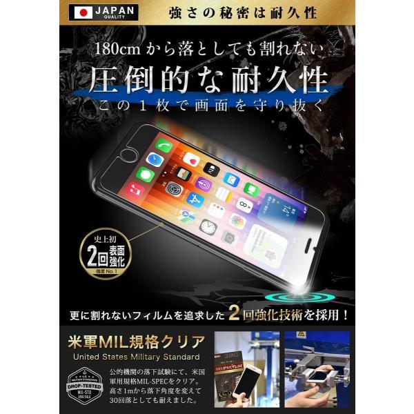iPhone 保護フィルム ガラスフィルム iPhone8 iPhone11 Pro XR XS MAX Plus ブルーライトカット 日本製 10H ガラスザムライ 7/6s/6/6sPlus/6Plus/SE/iPodtouch|orion-sotre|09
