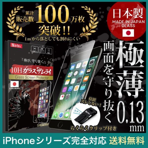 iPhone極薄ガラスフィルム