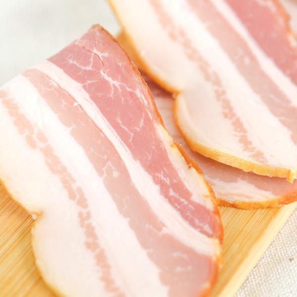 ベーコン ブロック 170g 赤味ベーコン 伊吹ハム 肉の味わい ベーコンエッグ サンドイッチに|orite|06