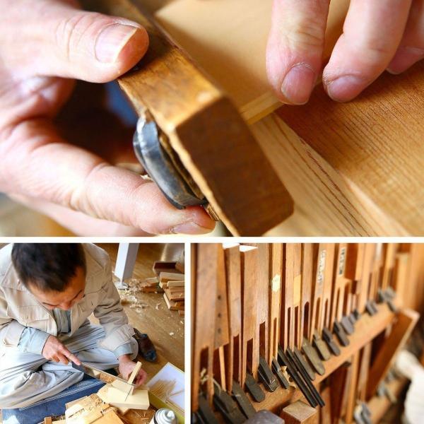 国産 木製 名刺入れ 名入れ対応 大入りタイプ(ケヤキ 木曽ヒノキ) 約30枚収納可能|orite|08