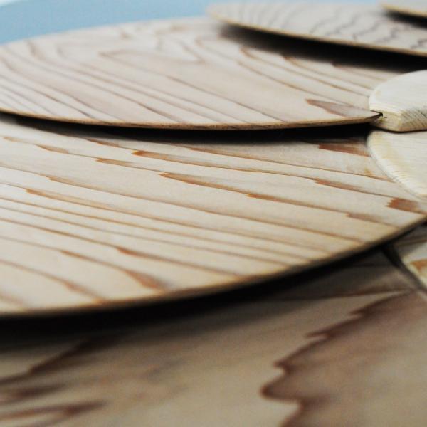 国産 ヒノキ使用 木のうちわ 団扇 夏祭り 浴衣 檜の香り|orite|02