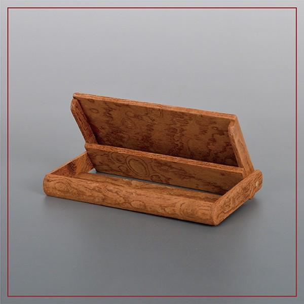 国産 木製 名刺入れ(ケヤキ 木曽ヒノキ) 約15枚収納可能 |orite|03