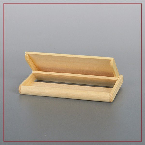 木製名刺入れ(ヒバ、栓:白色) |orite|03