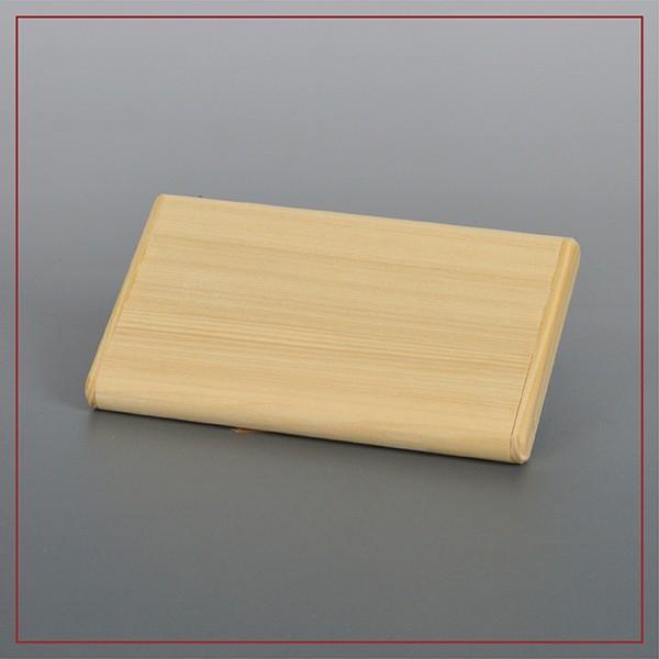 名刺入れ 木製 ヒバ 約15枚収納可能 名刺ケース カードケース シンプル|orite|04