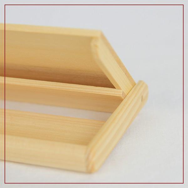 名刺入れ 木製 ヒバ 約15枚収納可能 名刺ケース カードケース シンプル|orite|05