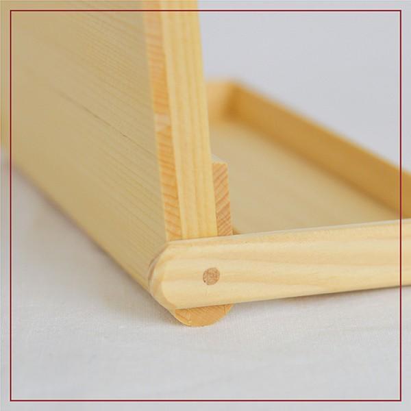 名刺入れ 木製 ヒバ 約15枚収納可能 名刺ケース カードケース シンプル|orite|07