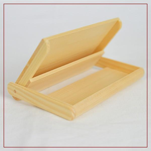 名刺入れ 木製 ヒバ 約15枚収納可能 名刺ケース カードケース シンプル|orite|08