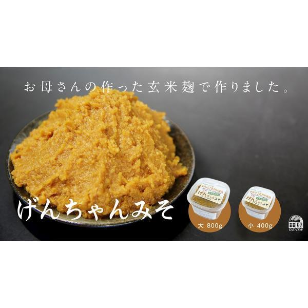 手作りの玄米麹 無添加 こだわり味噌 げんちゃんみそ 400g|orite|03