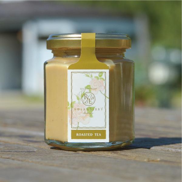 無農薬で育てた茶葉を使用 HOUJICHA JAM / ほうじ茶ジャム 無添加 手作り ラテにも|orite