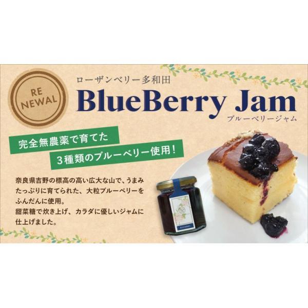 国産 無添加 BLUEBERRY JAM / 完熟ブルーベリージャム|orite|02
