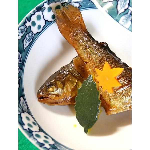醒井楼の虹鱒の甘露煮 5匹入り|orite