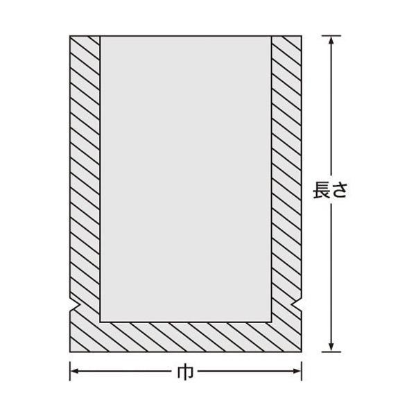 真空袋 ナイロンポリ 新[Lタイプ] [No.2] (120mm*200mm) [100枚入]|ork|03