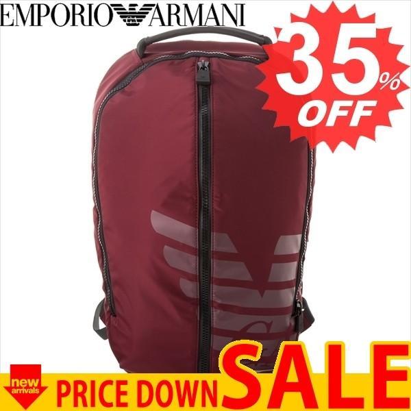 エンポリオアルマーニ バッグ リュック・バックパック EMPORIO ARMANI Y4O125 YKS6V 88447   カラー:BORDEAUX/NERO