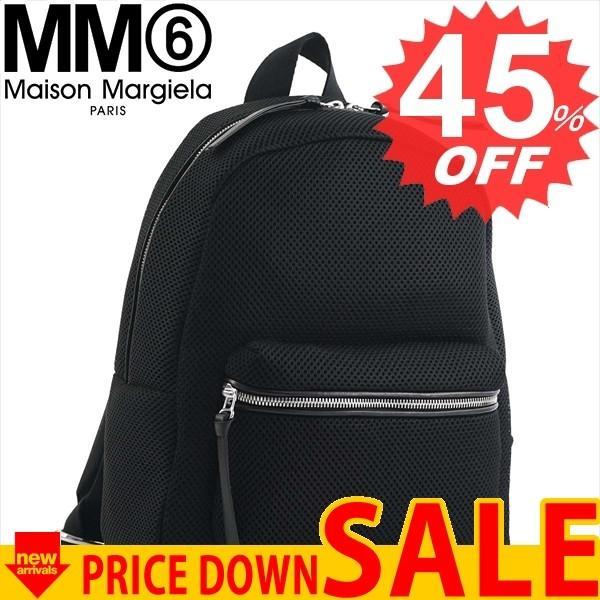 エムエム6メゾンマルジェラ バッグ リュック・バックパック MM6 MAISON MARGIELA S54WA0012 BACKPACK MESH 900 BLACK PR992 POLY【型式】1031820012015