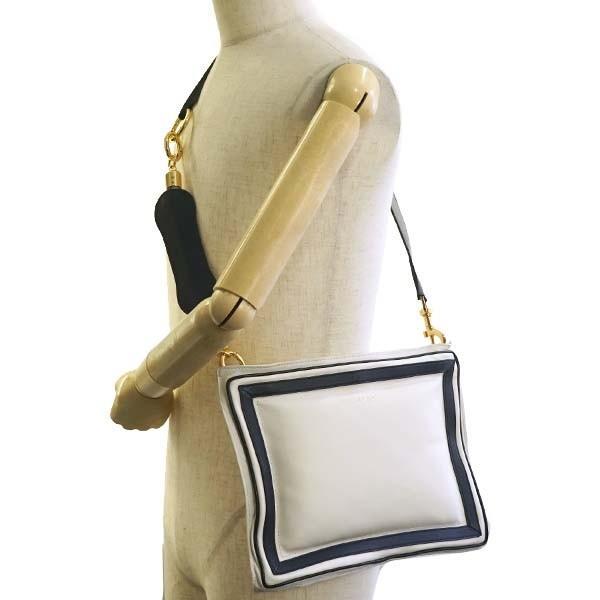 サカイ バッグ ショルダーバッグ SACAI S018-03 PILLOW BAG SMALL IN NAPPA 151 OFF WHITE 【型式】1271011803010
