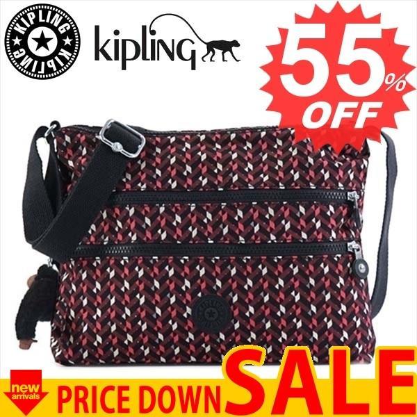 キプリング 斜め掛けバッグ KIPLING K13335 ALVAR K05 PINK CHEVRON【型式】1371013335531
