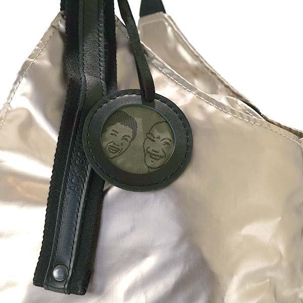 ショルダーバッグ ジャックゴム JACK GOMME LIGHT ORIGINAL 935 TOTE NOIR COATED FABRIC バッグ