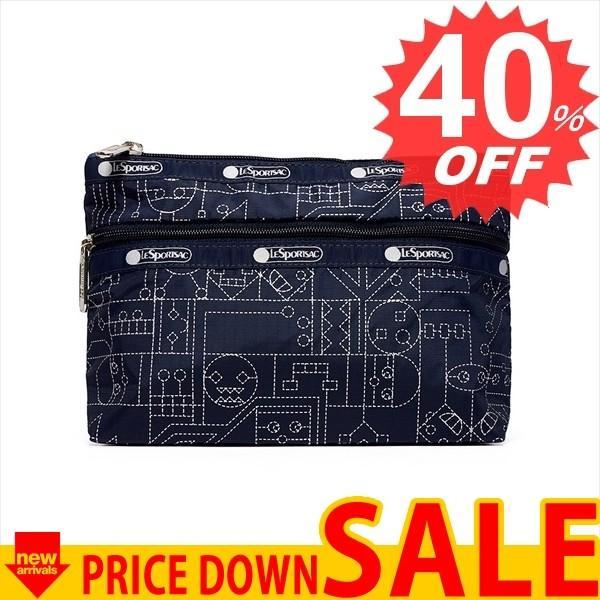 レスポートサック バッグ ポーチ LESPORTSAC COSMETIC CLUTCH 7105  E332 TYPE FACE  比較対照価格3,132 円