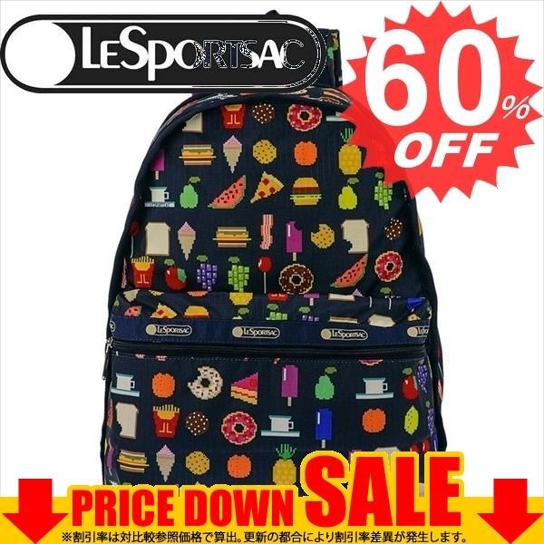 レスポートサック バッグ LESPORTSAC BASIC BACKPACK 7812  D953 FOODMOJIS   比較対照価格17,820円