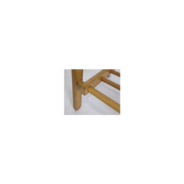 ハンガーラック おしゃれ 木製 棚付き コートハンガー ラック 折りたたみ 北欧 シンプル ナチュラル ブラウン or-6110 br|orosiya|03