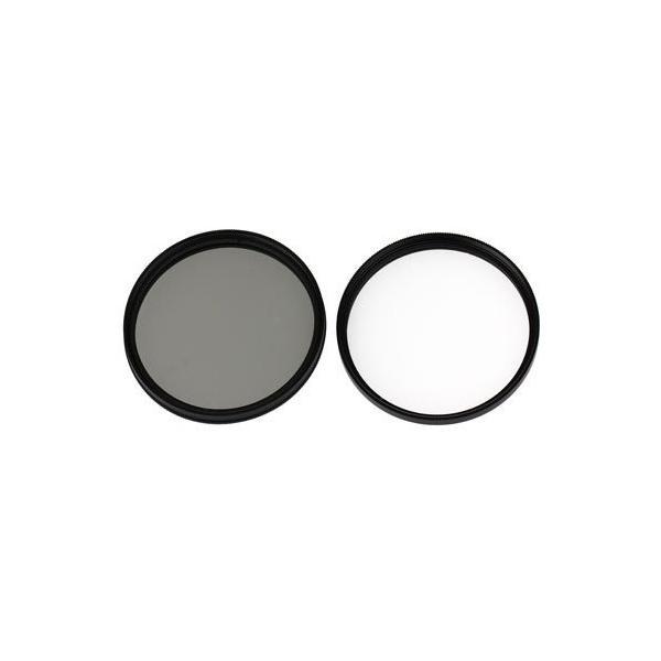 UVレンズフィルター55mm+CPLレンズフィルター55mmSONY α6300 ILCE-6300M/α6500 ILCE-6500M 高