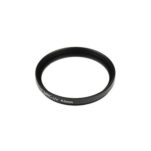 レンズ保護フィルター43mm+49mm+52mmCANON EOS M10/M3 クリエイティブマクロ トリプルレンズキット用 互換マルチコ