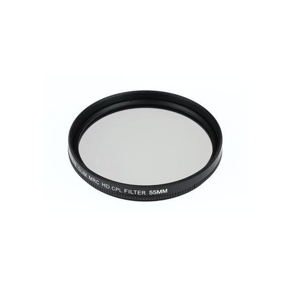CPLレンズフィルター55mm+58mmNikon D3500 ダブルズームキット用 互換MRC-CPLレンズフィルター 55mm+58mm